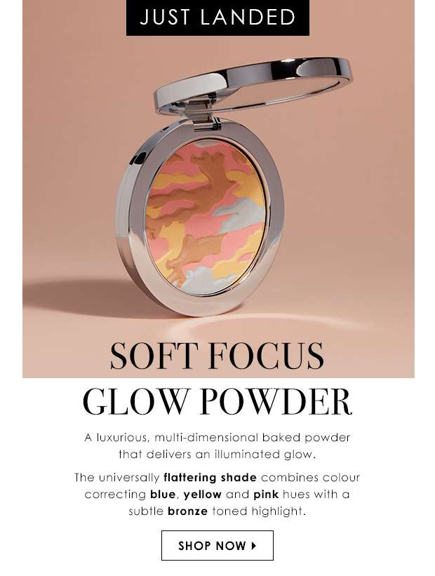 Just Landed: Soft Focus Glow Powder