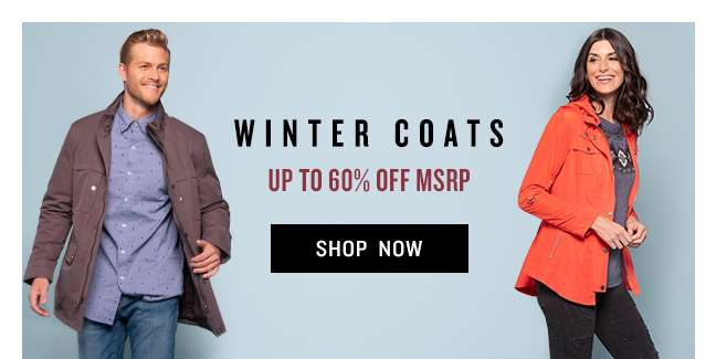 Shop Winter Coats