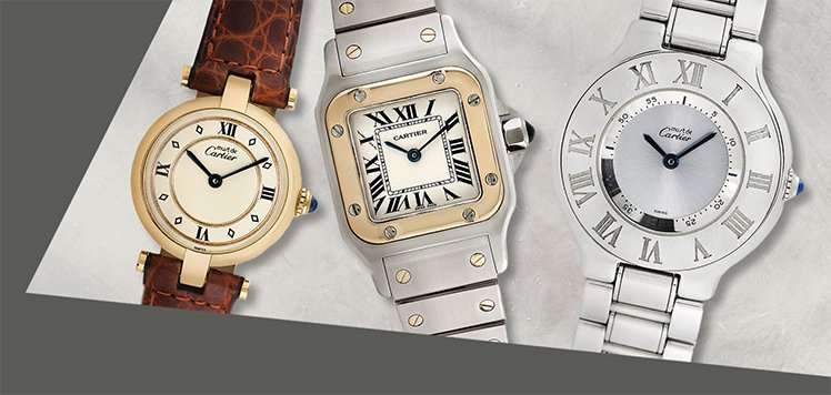 Women's Vintage Watches With Rolex & Cartier