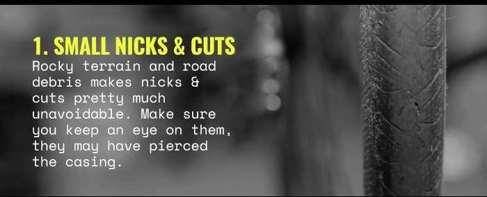 1. Small nicks & cuts