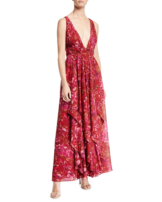 The Lana Floral Light Georgette Dress