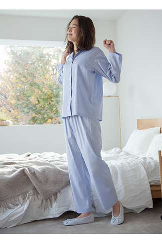 Women's Soft Stretch Long Sleeve Pajamas at $49.90