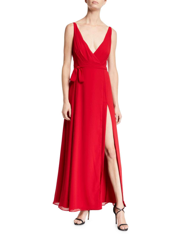 The Dinah Cowl-Back Sleeveless Dress