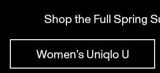 Women's Uniqlo U