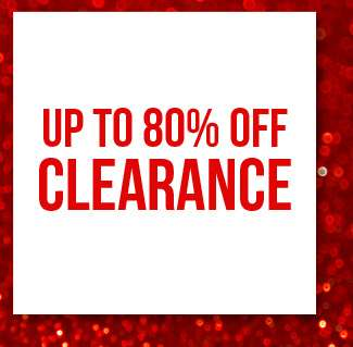 Shop up to 80% off clearance sales collection