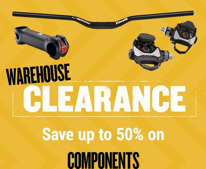 Warehouse Clearance Save up to 50%