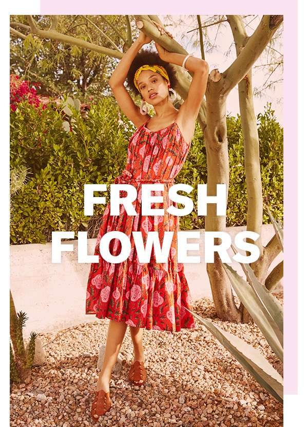 New florals just arrived… because your closet is SO ready for spring.