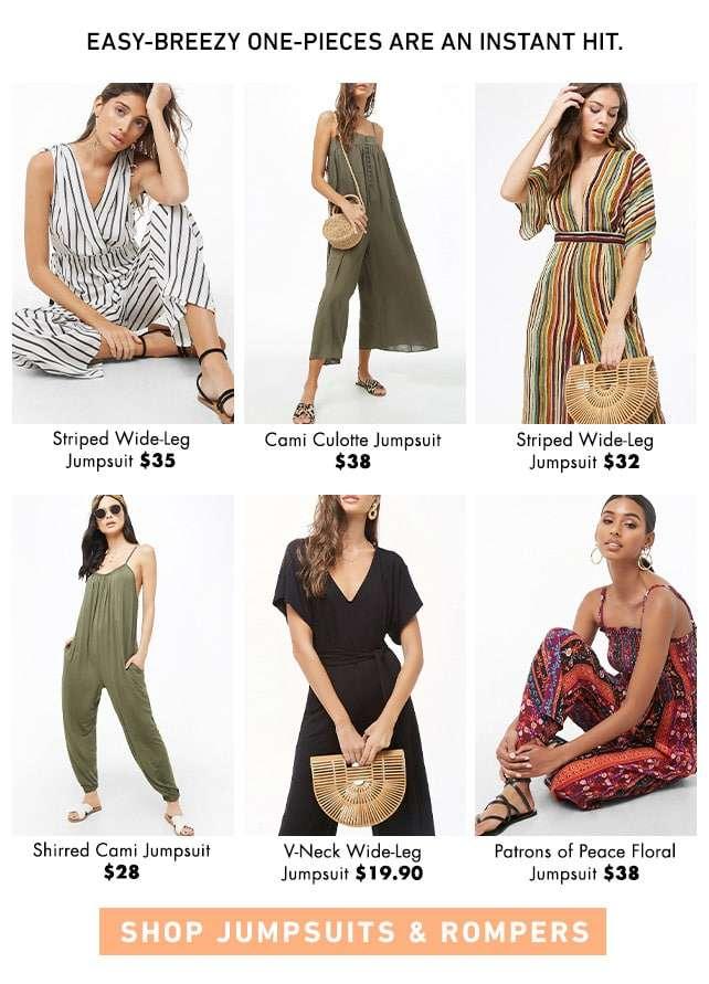 Shop Jumpsuits & Rompers