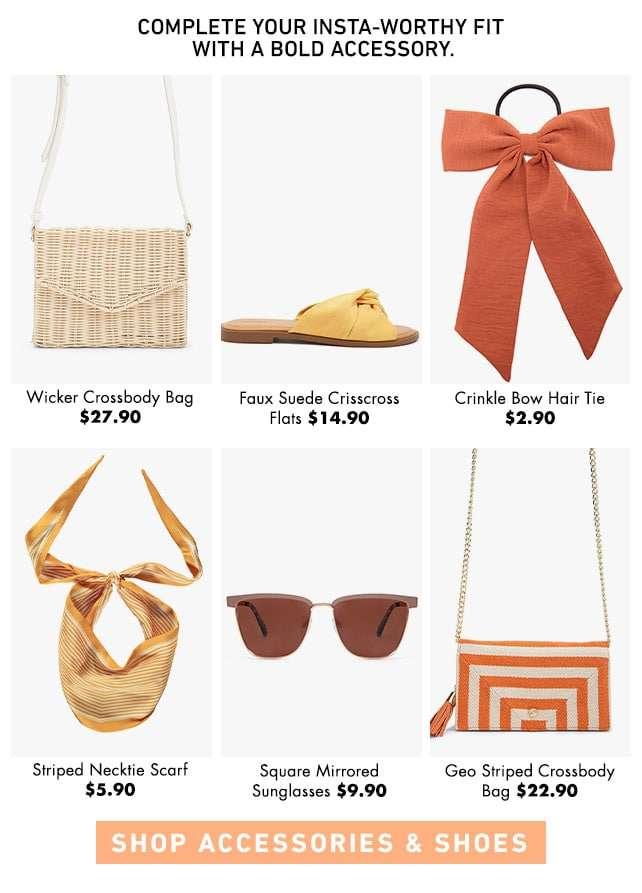 Shop Accessories & Shoes