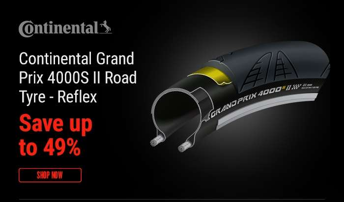 Continental Grand Prix 4000S II Road Tyre - Reflex