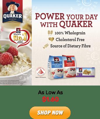 Quacker: As Low As $1.60. Shop Now!