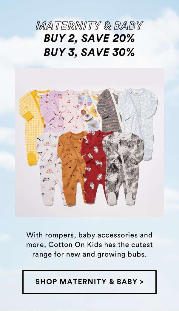 Maternity & Baby   SHOP SLEEP