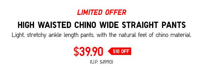 Women's Denim Jersey Tapered Pants at $29.90
