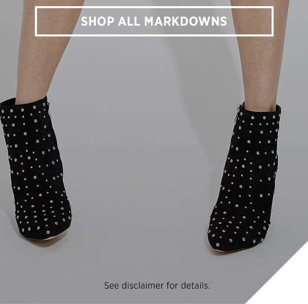 Shop All Markdowns