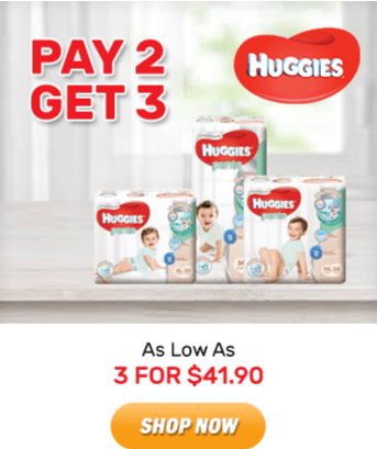 Huggies: As Low As 3 for $41.90. Shop Now!