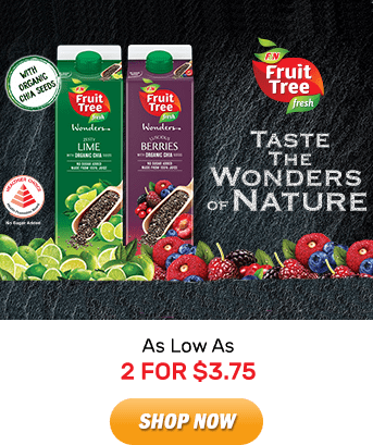 Fruit Tree Fresh: As Low As 2 for $3.75. Shop Now!