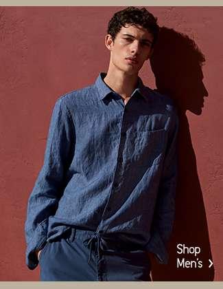Shop Men's Premium Linen Collection