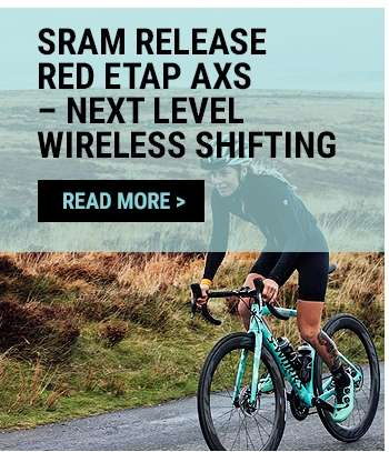SRAM release RED eTAP AXS – next level wireless shifting