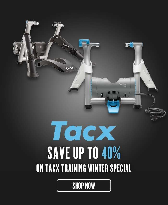 Save up to 40% on Tacx Training Winter Special