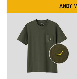 SPRZ NY UT | Shop Andy Warhol Short Sleeve UT at $14.90