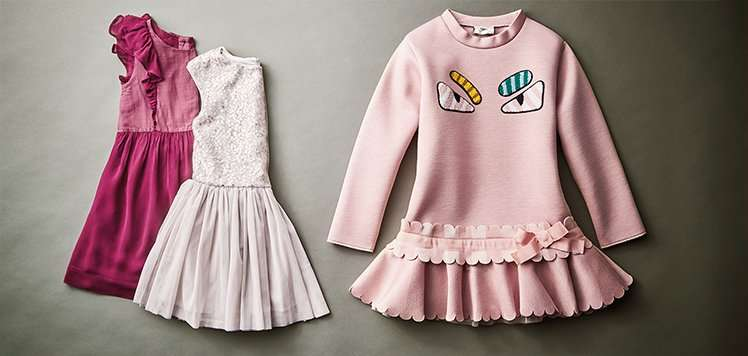 Pastels for the Little Fashionista