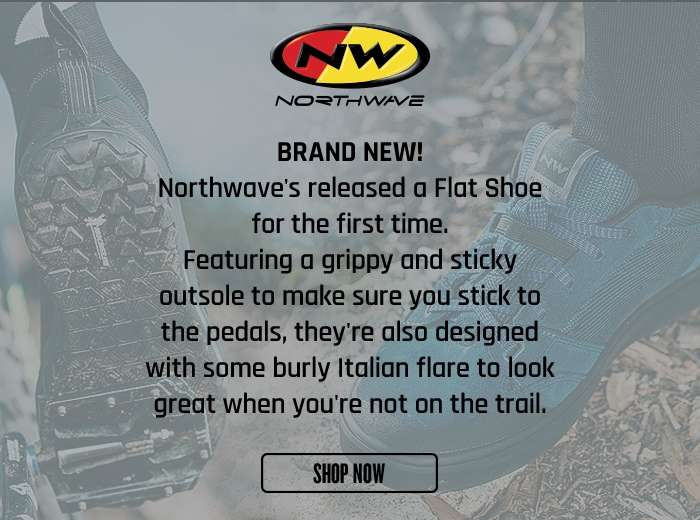 Brand New! Northwave's released a Flat Shoe