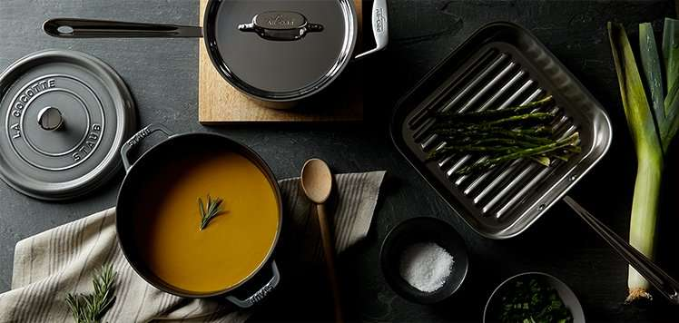 A Pro-Grade Kitchen With All-Clad & Staub