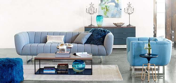 Blue Furniture to Live With Color