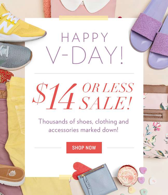 Shop V-Day Sale
