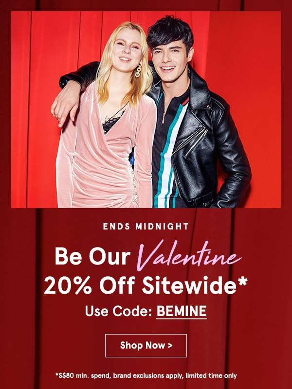 12 hours only: 20% OFF Sitewide!