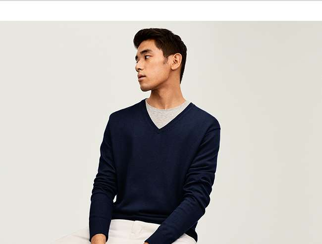 Men's Supima Cotton Sweater