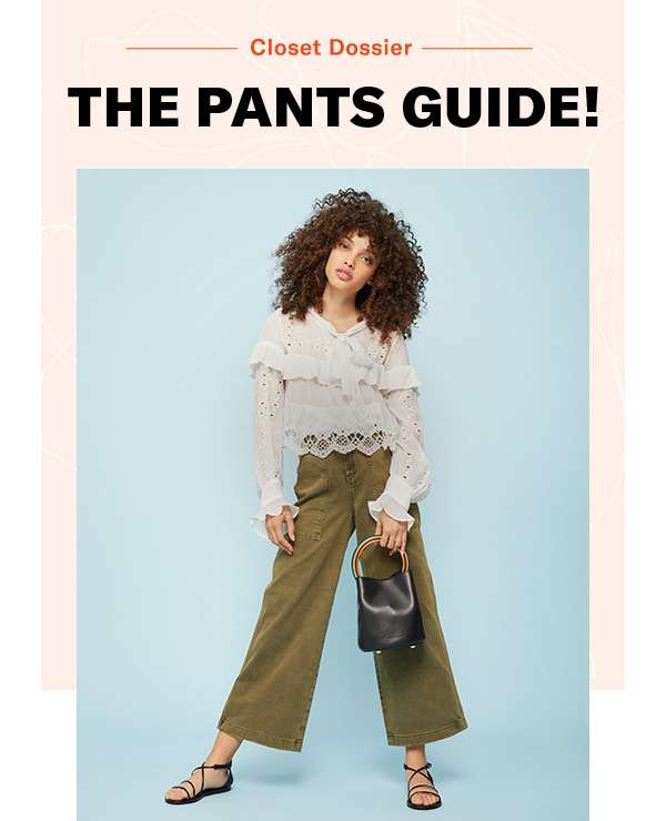 From trousers to track pants, the 4 essential pairs of the season.