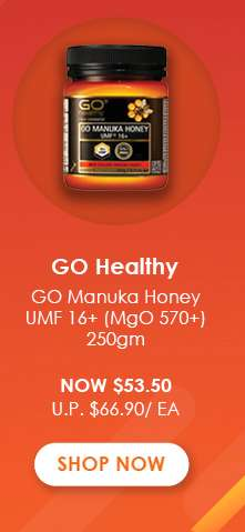 GO Healthy GO Healthy GO Manuka Honey UMF 16+ (MgO 570+) 250gm