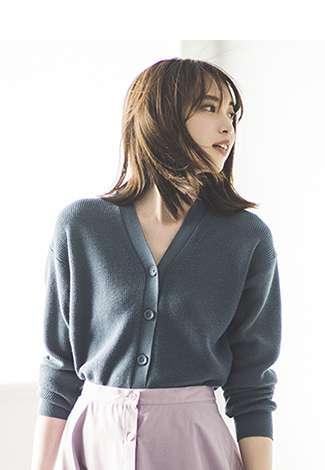 Women's Cotton Cashmere Cardigan