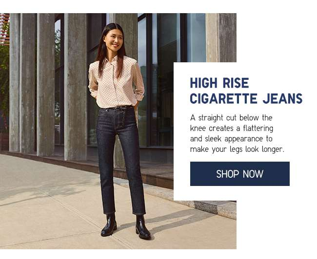 Shop Women's High Rise Cigarette Jeans