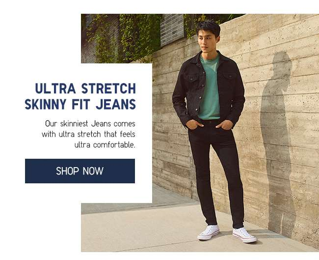 Shop Men's Ultra Stretch Skinny Fit Jeans