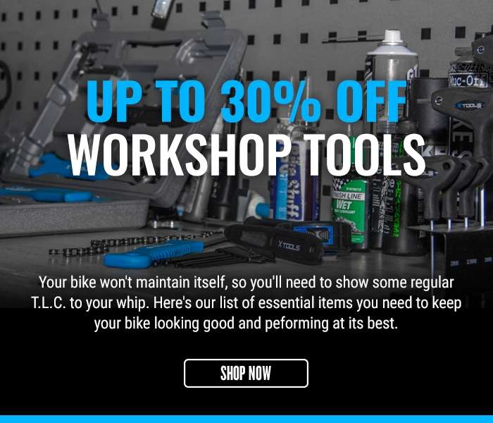 Up to 30% off workshop tools