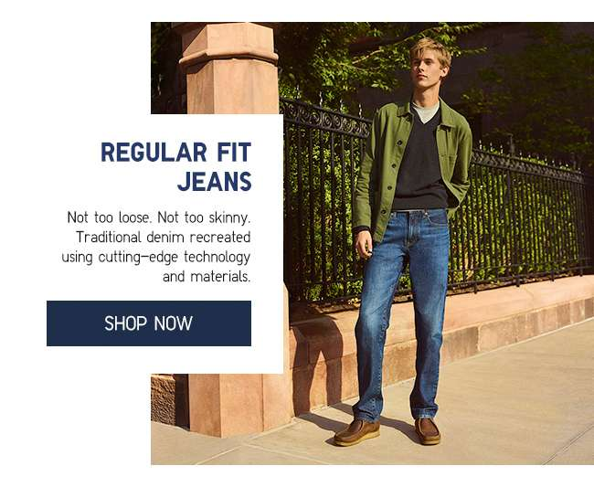 Shop Men's Regular Fit Jeans