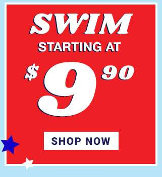 Swim starting at $9.90