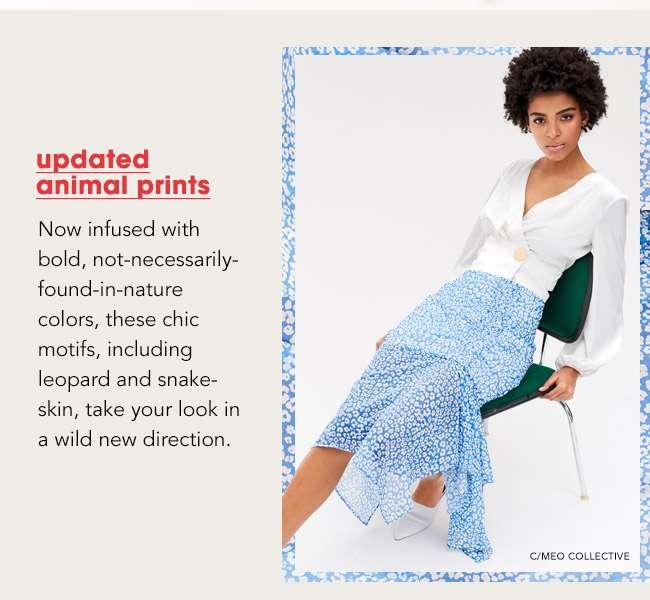 updated animal prints