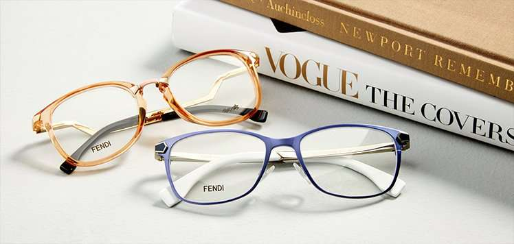 Eyeglasses With FENDI