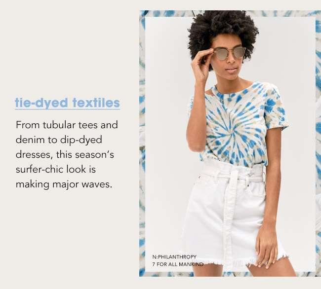 tie-dies textiles