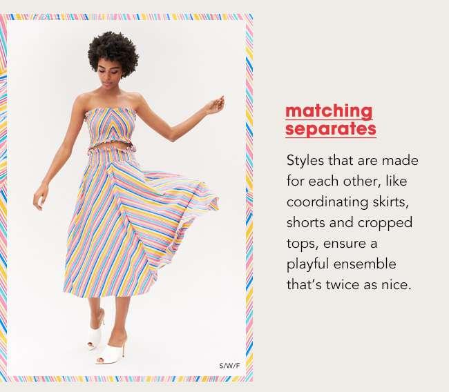 matching separates