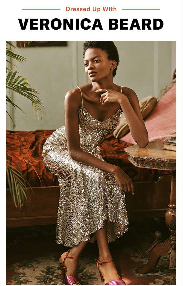 From sequins to safari prints, the label presents standout styles for everything on your social calendar.