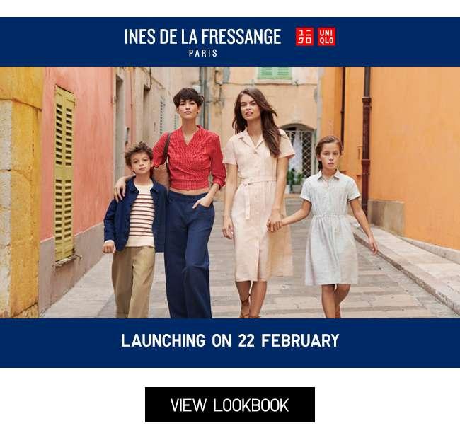 INES DE LA FRESSANGE   Launching 22 February