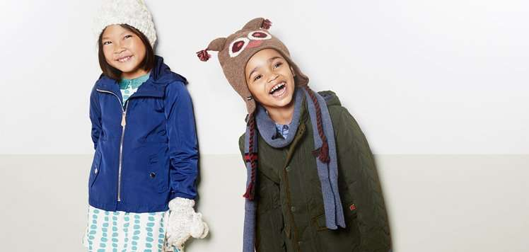 Up to 60% Off Outerwear for Kids