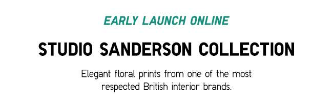 Studio Sanderson UT Collection   Elegant floral prints from one of the most respected British interior brands.