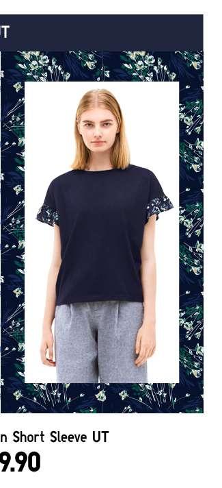 Shop Women's Studio Sanderson Short Sleeve UT at $19.90