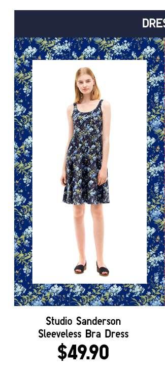 Shop Women's Studio Sanderson Sleeveless Bra Dress at $49.90