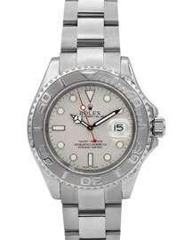 Rolex Pre-Owned Men's 40mm Yacht-Master Bracelet Watch w/ Platinum Beze